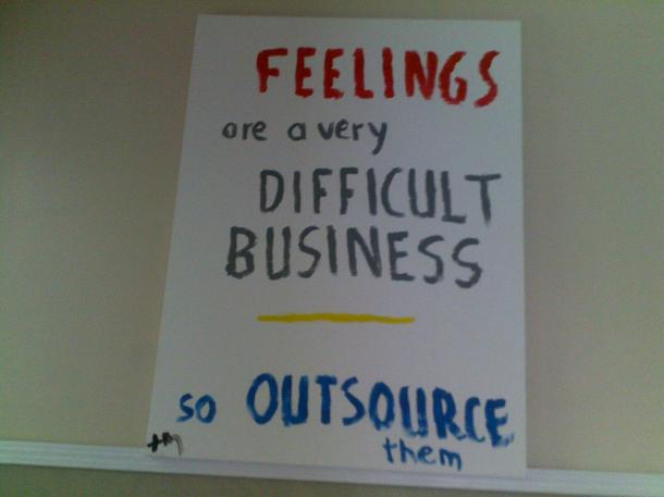 Outsourced Feelings
